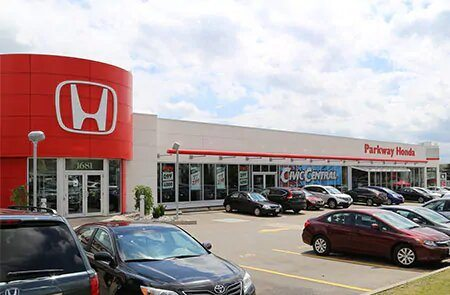 Book an Appointment at Parkway Honda
